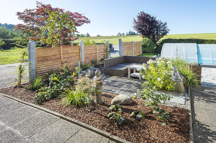 Ein Garten zum entspannen